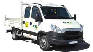 Camion benne iveco 6 places